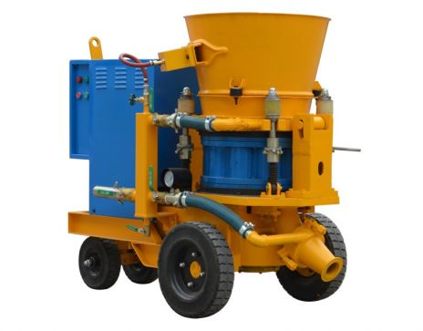 WZ-7 Dry-mix concrete spraying machine/Gunite machine/Shotcrete machine